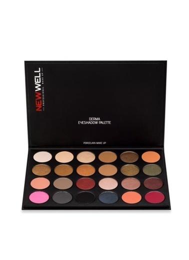 Wella Newwell 24'Lü Göz Farı Paleti Renkli